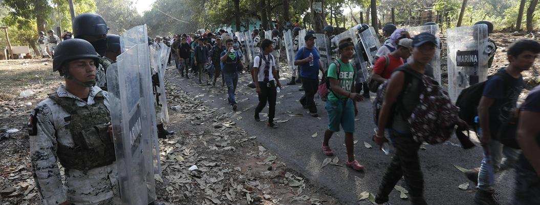 PRD propone paso libre para migrantes centroamericanos