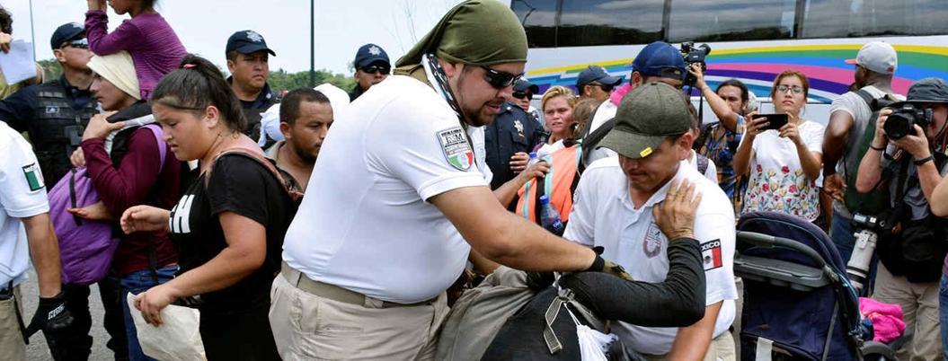 """Muñoz Ledo critica las """"salvajes agresiones"""" contra migrantes"""