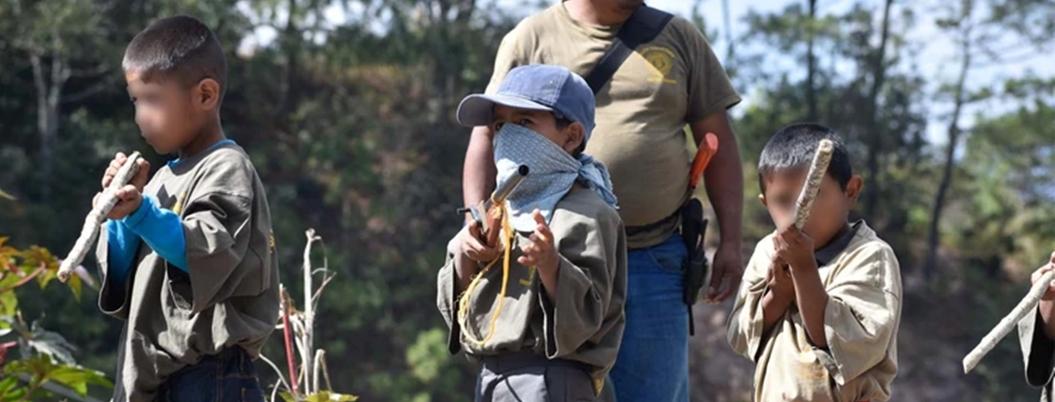Grupos criminales reclutan a 35 mil niños al año en México