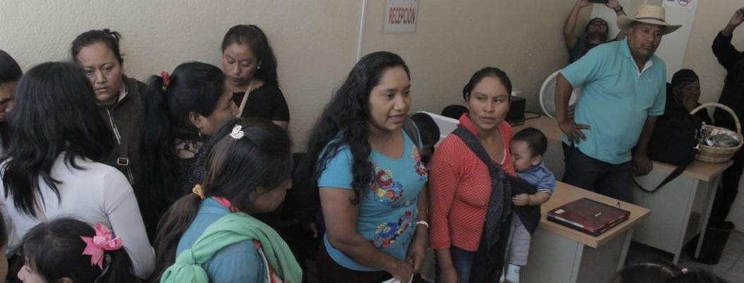 Familiares de desaparecidos en Chilapa protestan en Chilpancingo