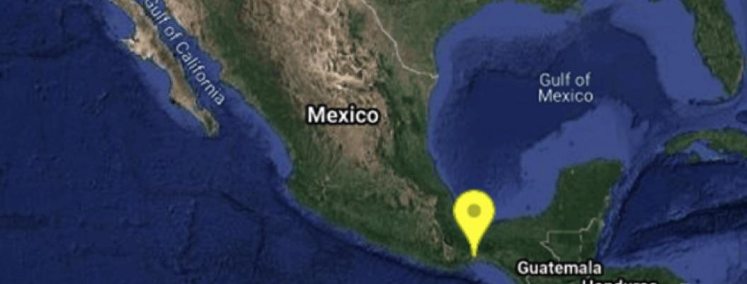 Se registra sismo de 5.4 en Oaxaca