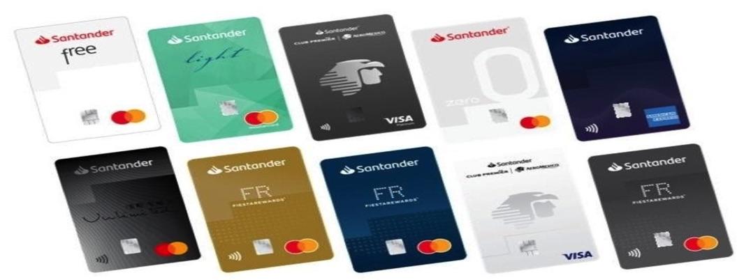 Santander omitirá números en tarjetas de crédito para evitar robo