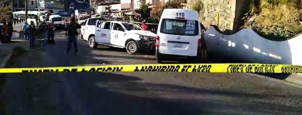 Emboscan a ministeriales en Taxco; hay dos muertos