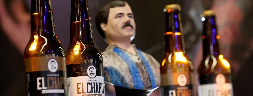 Hija del Chapo crea cerveza con imagen de su padre