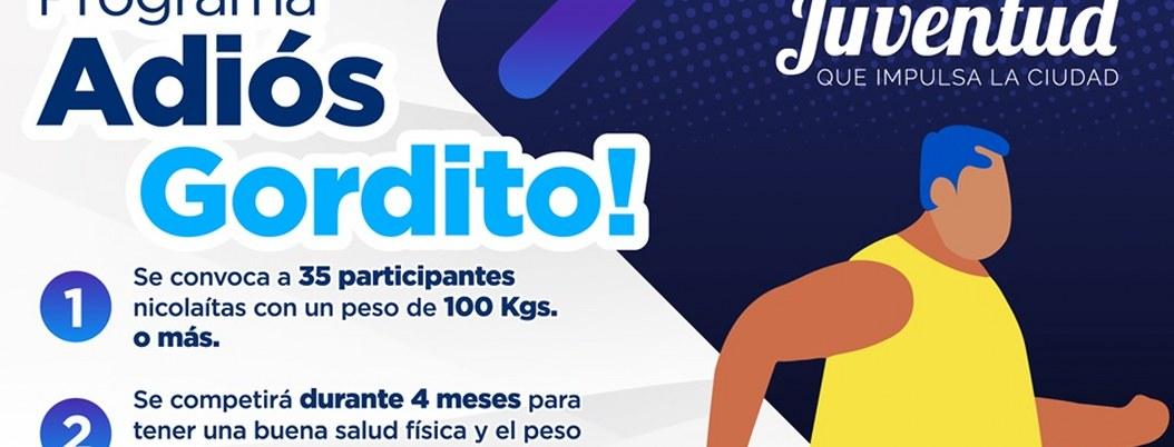 """Programa """"Adiós gordito"""" ofrece 5 mil pesos a quienes bajen de peso"""