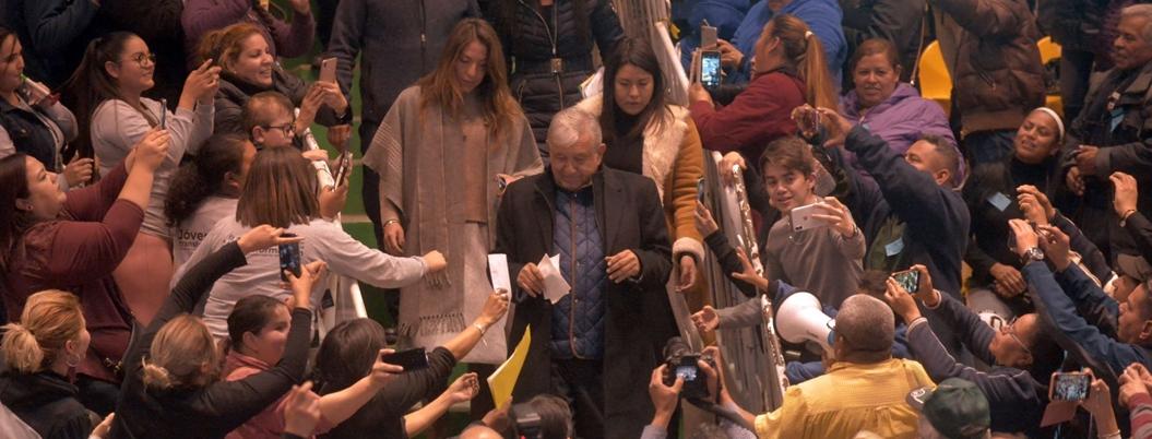 AMLO mantiene el apoyo del pueblo: lo aprueba el 71% de ciudadanía