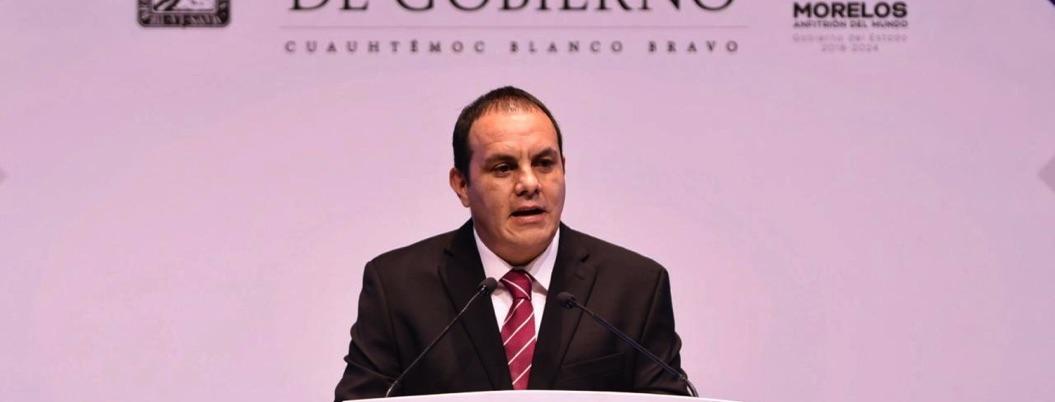 Rinde Cuauhtémoc Blanco su primer informe de gobierno