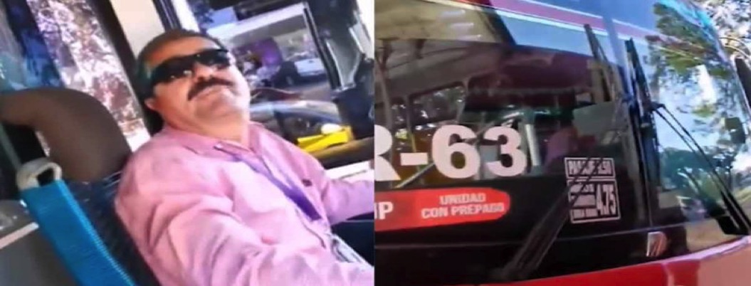 Chofer baja de autobús a pareja gay por besarse   VIDEO