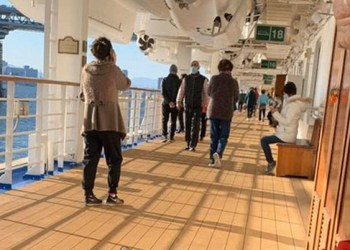 Suman 285 casos de coronavirus en crucero varado en Japón 2