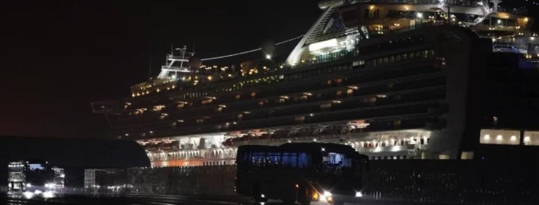 Reportan 40 ciudadanos de EU contagiados en crucero en Japón