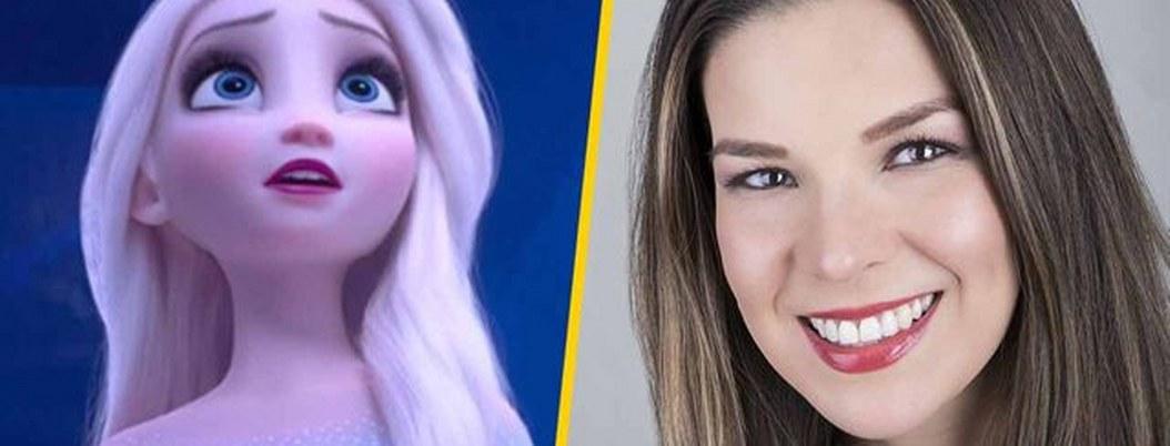 Cantante mexicana cantará como Elsa en los Oscar