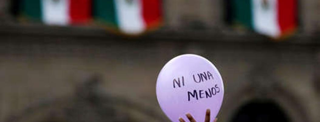 Justicia mexicana no sabe contar los feminicidios