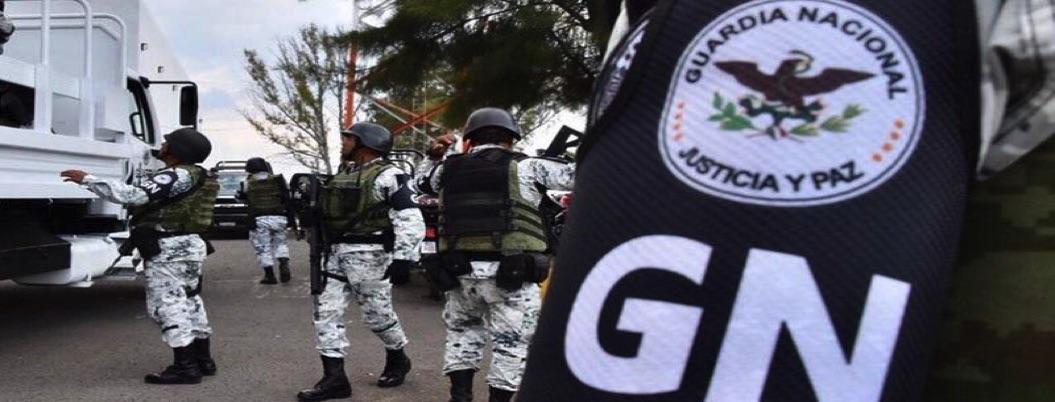 GN asegura arsenal de 100 armas en la Gustavo A. Madero