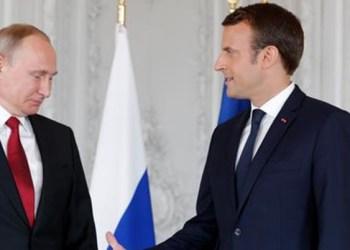 Macron acusa a Rusia de intentar desestabilizar democracias 7