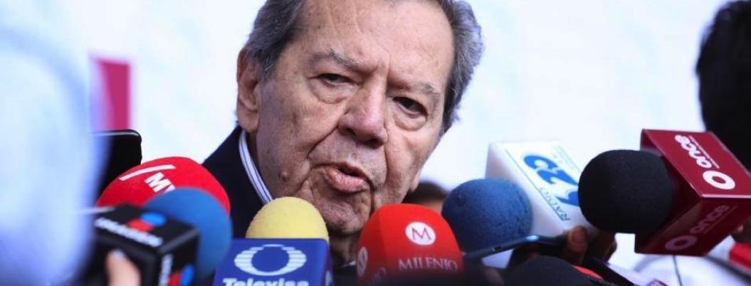Muñoz Ledo apoya abiertamente a Ramírez Cuellar para dirigir Morena