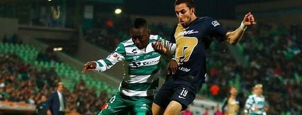 Pumas empata contra Santos que continúa invicto en el Clausura