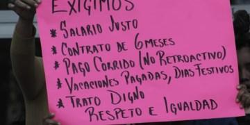 Astudillo no quiere protesta: ordena desalojo de empleados de Salud 1