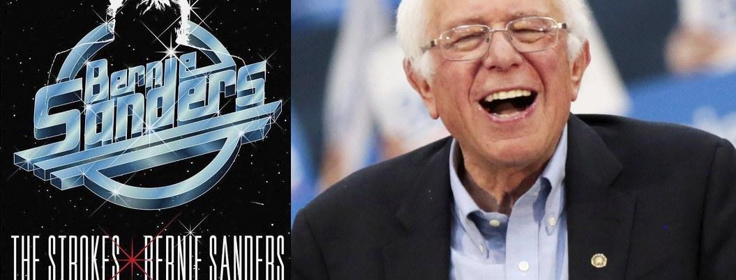 """""""The Strokes"""" ameniza campaña política de Bernie Sanders"""