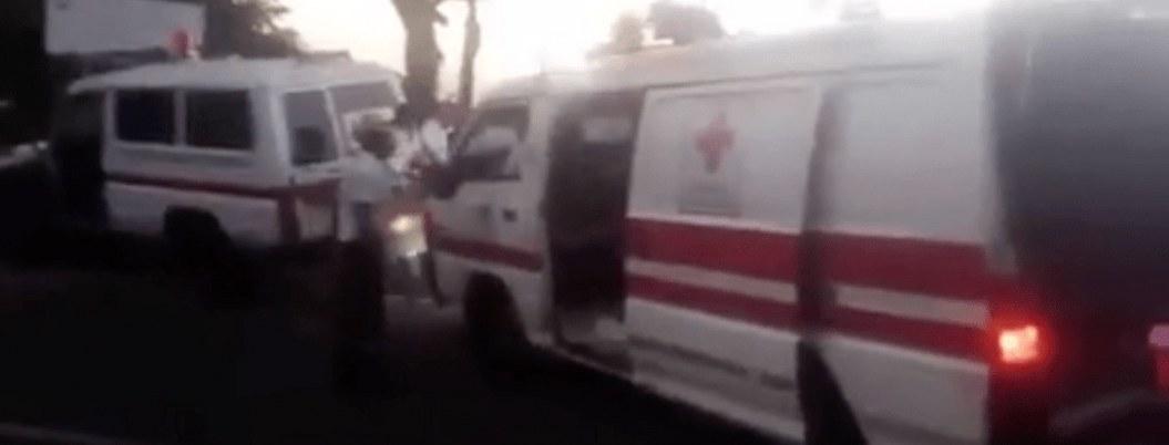 Autobús cae al barranco en El Salavador; hay 6 muertos y 33 heridos