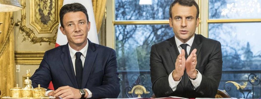 Candidato de Macron renuncia tras difusión de video sexual