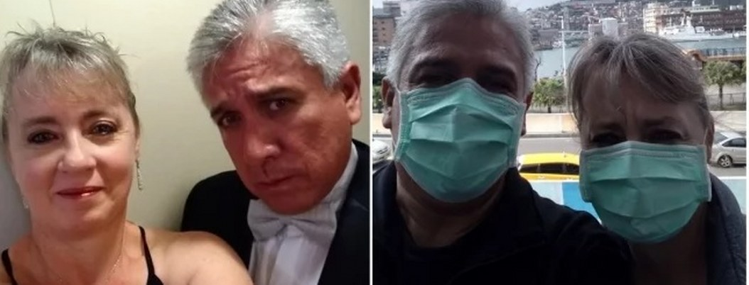 Mexicanos están varados en un crucero en cuarentena por coronavirus
