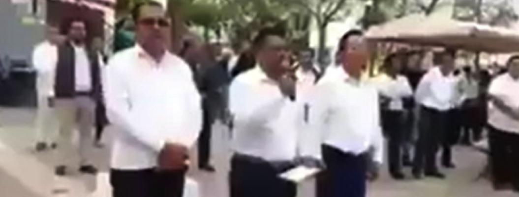 Alcalde de Chiapas se burla de mujeres que hicieron paro