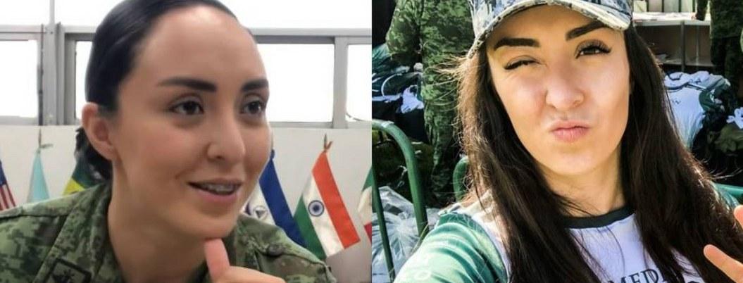 Alexa Bueno, la soldado youtuber enlistada en el ejército| VIDEO