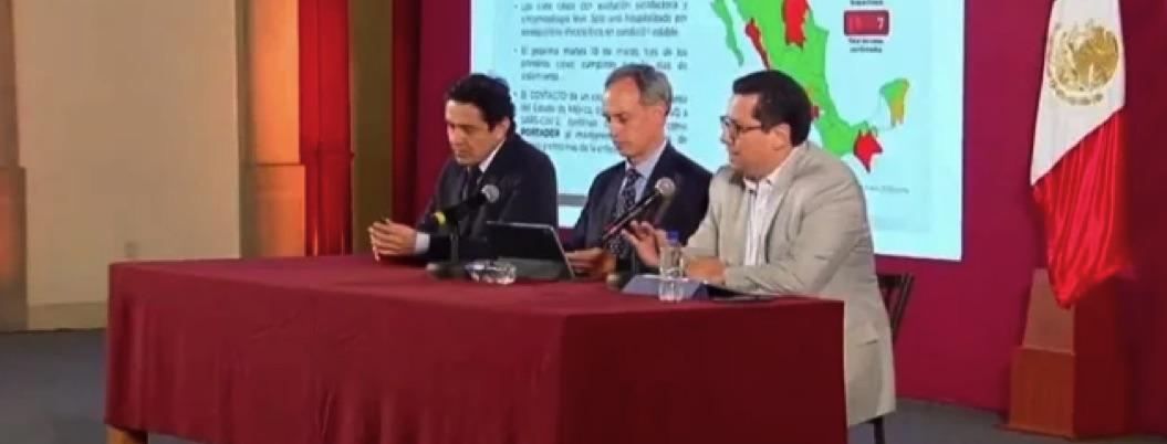 México se mantiene con 7 casos confirmados de coronavirus