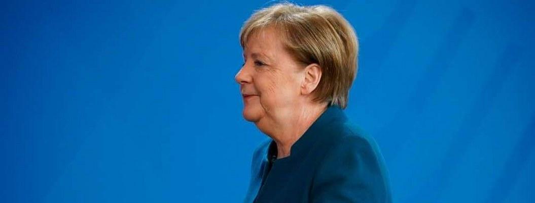 Merkel da negativo en segunda prueba de Covid-19