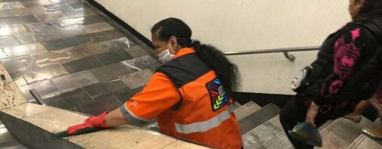 Metro de CDMX envía a trabajadores mayores a casa por Covid-19