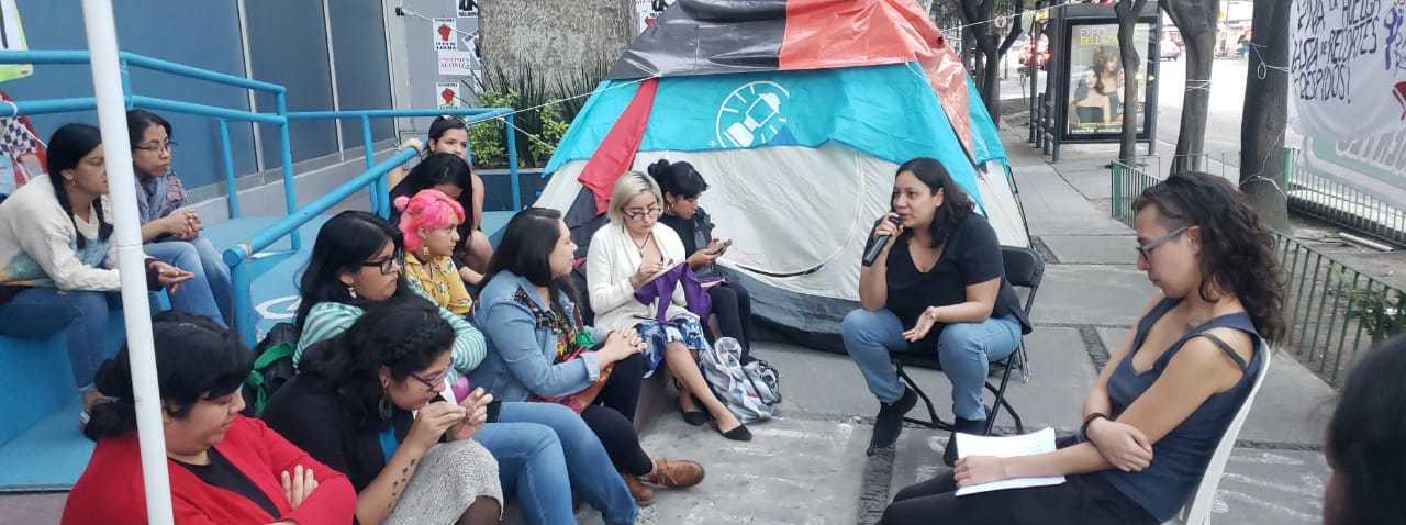 Trabajadoras de Notimex protestarán con huelga de hambre el 9M