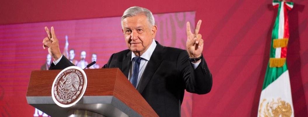 AMLO: pide paz y libertad para informar sin censura en la mañanera