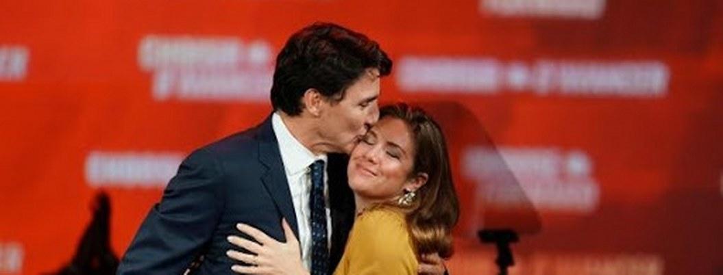 Trudeau y esposa en cuarentena; ella tiene síntomas de gripe