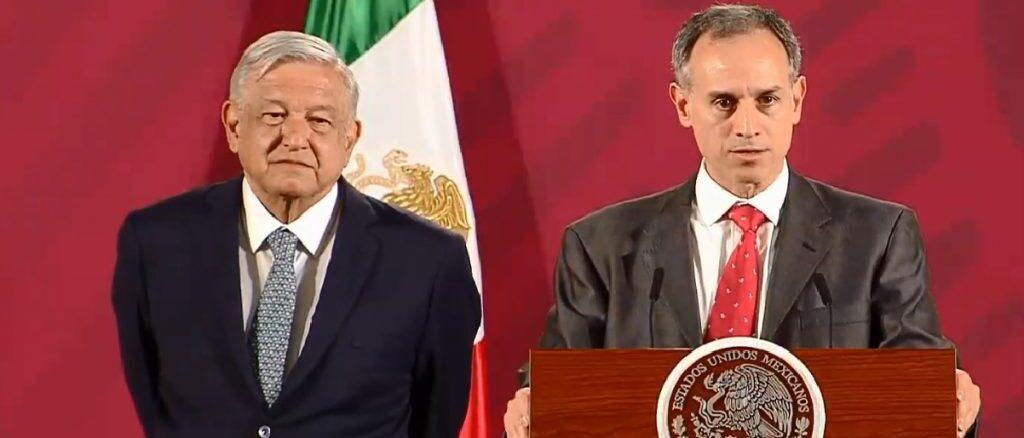 'AMLO no es fuerza de contagio', dice López-Gatell