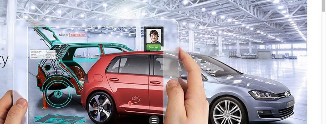 Volkswagen agrega realidad aumentada a sus vehículos eléctricos