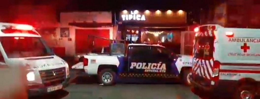 Riña en un bar de Salamanca termina en balacera