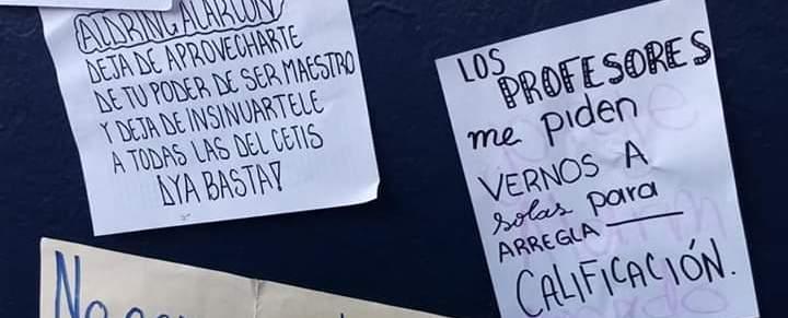 Alumnas del CETIS 116 en Acapulco, se unen a denuncias por acoso
