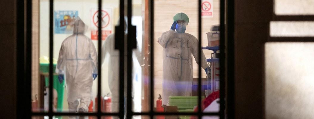 China cierra uno de los hospitales temporales de Wuhan