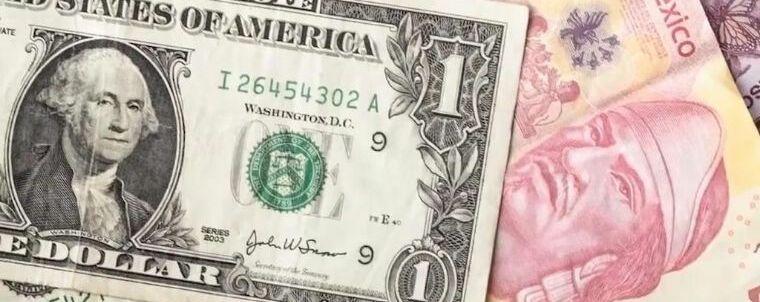 Peso mexicano continúa en caída libre; dólar repunta