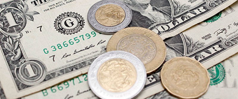 Peso levanta cabeza ante el dólar, pero aún sigue en la lona