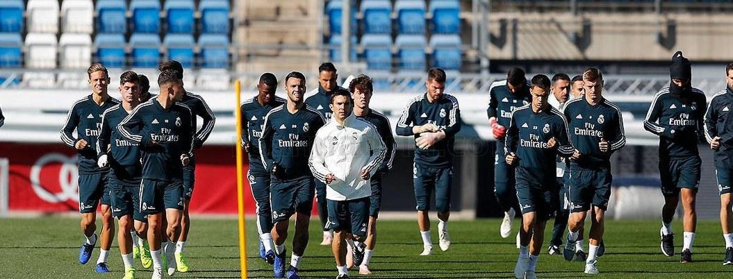 Real Madrid vuelve a entrenamientos con Isco ausente
