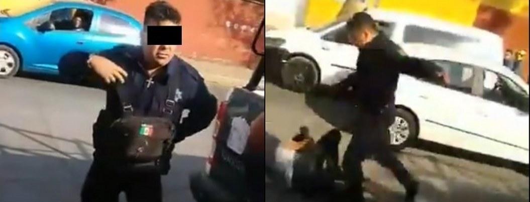Policía de Tultitlán golpeó y pateó a un detenido| VIDEO