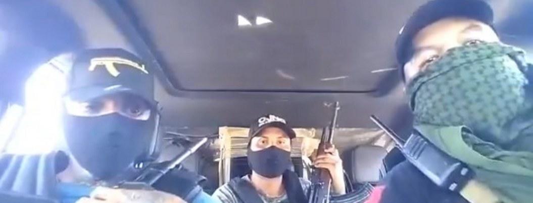 Sicarios del CJNG se graban armados en calles de la GAM