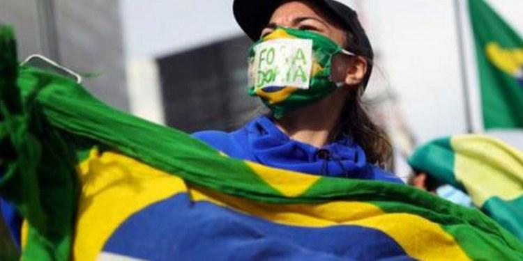 Brasil récord contagios