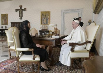 Beatriz Müller se reúne con el Papa y le entrega carta de AMLO 4