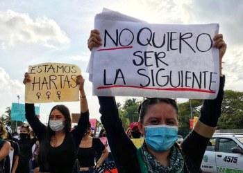 Activistas protestan por asesinato de Ayelín en Guerrero 8