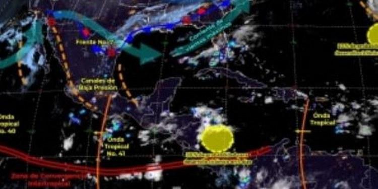 Prevén lluvias fuertes para este viernes en Tabasco 1