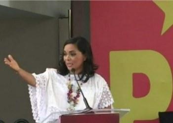 Beatriz Mojica insiste en ser candidata a la gubernatura; sigue en la contienda, dice 6