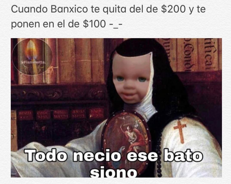 ¡Ay, Sor Juana! Los memes del nuevo billete de 100 pesos 1
