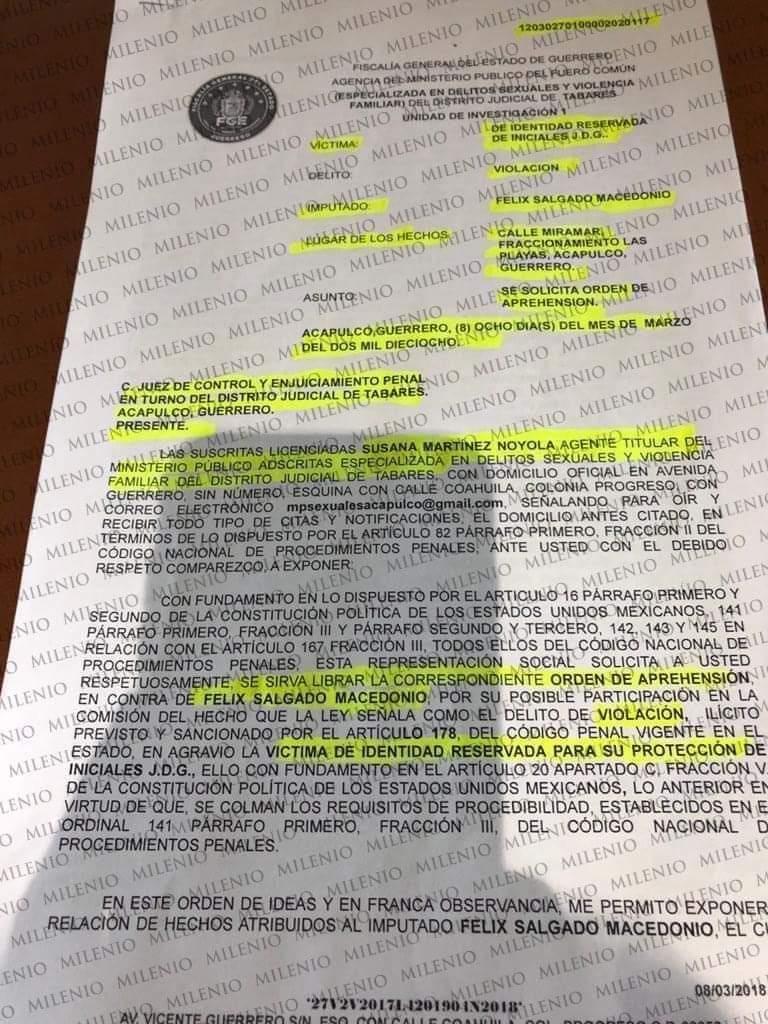 Morena hará consulta en Guerrero para valorar el perfil de Félix Salgado, informa 3